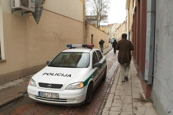 Vilniuje grasinta susprogdinti pastatą (papildyta)