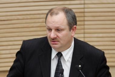 Klaipėdoje apvogta parlamentaro K.Komskio mašina