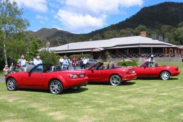 """Mazda MX-5"" mini dvidešimtmetį Europoje"