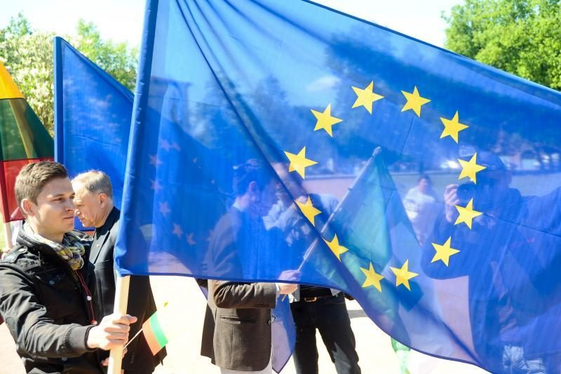 Vilniuje   atidaromi    Europos    namai