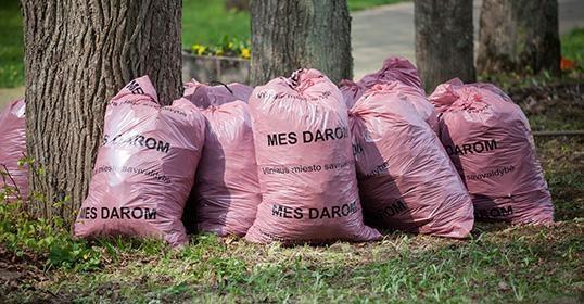"""""""Darom 2013"""": Vilniuje išvežta 8520 tonų šiukšlių"""
