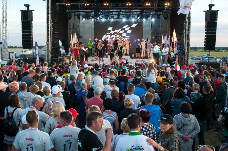 Ko gali siekti komanda, prieš metus 1006 km lenktynėse finišavusi antra?
