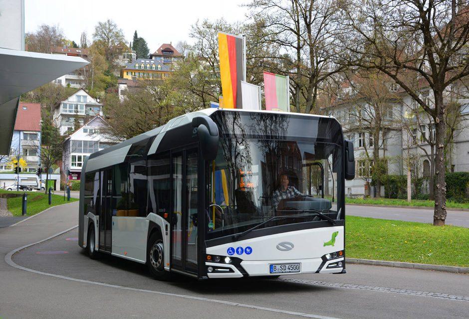 """Vilnius perka 150 lenkiškų """"Solaris"""" autobusų"""