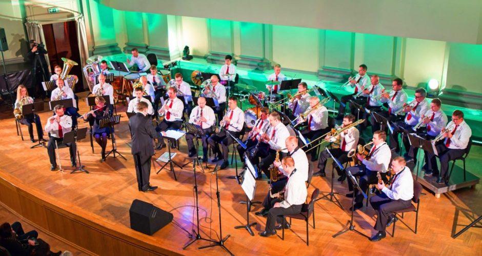 Kauno pučiamųjų instrumentų orkestras pelnė laurus