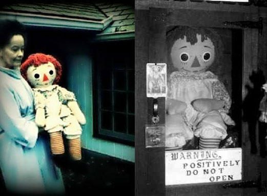 """Siaubo filme """"Išvarymas"""" rodoma lėlė Annabelle – vienas kraupiausių žaislų istorijoje"""