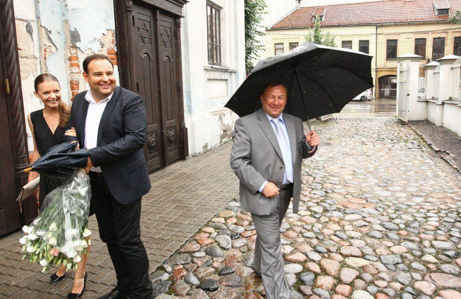 Buvęs Kauno meras E.Tamašauskas – vėl jaunavedys