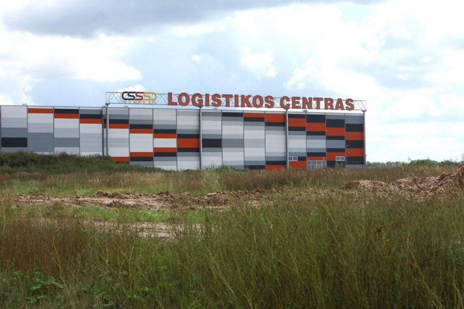 Gaisras logistikos centre