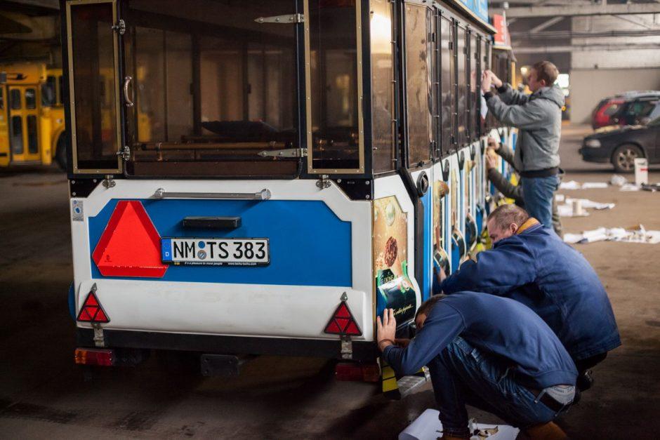 Vilnius šeštadienį pasipuoš žiemos šventėms, ims kursuoti kalėdinis traukinukas