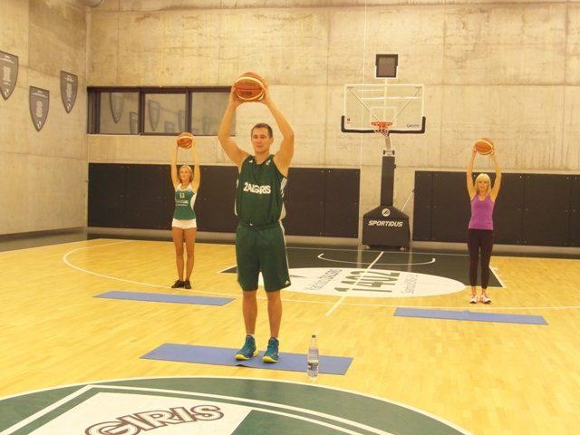Krepšininkas P. Jankūnas debiutavo kaip treneris