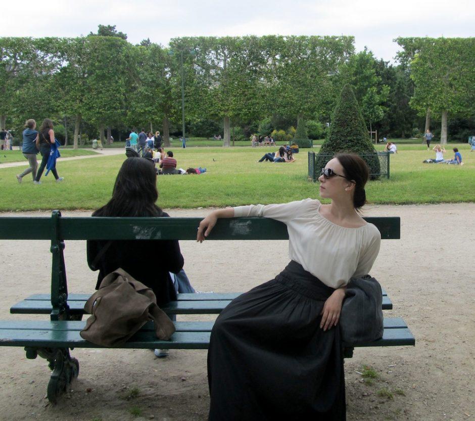 Paryžiuje pirmąkart apsilankiusi V. Bičkutė: ten būtinai dar sugrįšiu