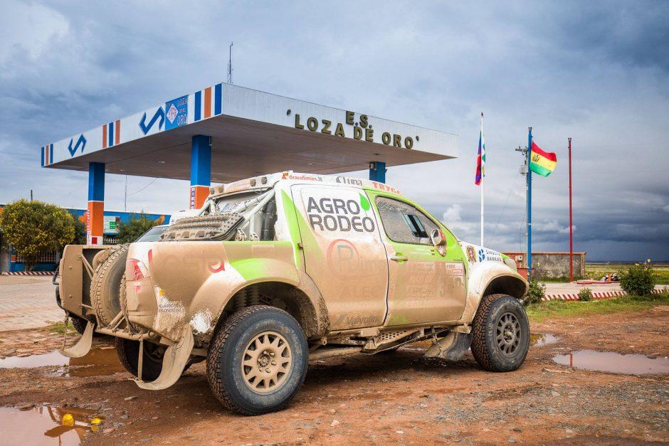 Pasiekus Dakaro pusiaukelę, auga lietuvių greitis