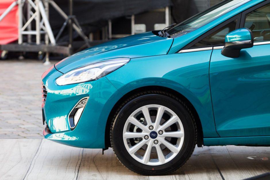 """Naujoji """"Ford Fiesta"""" gavo maksimalų saugumo įvertinimą"""