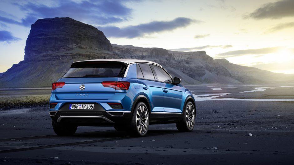 """Naujasis """"Volkswagen"""" krosoveris – sportiškas ir funkcionalus"""