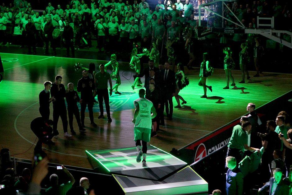"""Eurolyga: """"Žalgiris"""" – """"Olympiakos"""" 80:60"""