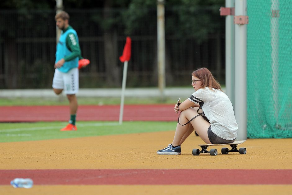 """""""Kauno Žalgirio"""" nepralaimėtų rungtynių seriją nutraukė riteriai"""