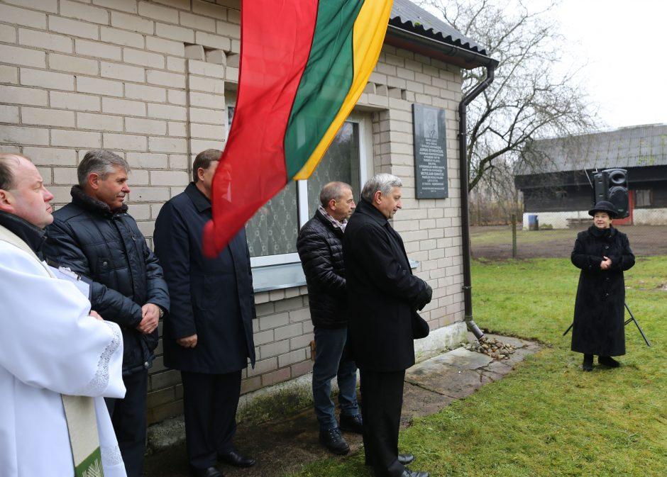 Pagerbtas Steigiamojo seimo nario J. Žitinevičiaus atminimas