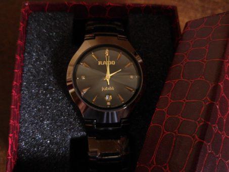 Skelbimas - RD juodas ir gražus klasikinis dėžutėje laikrodis