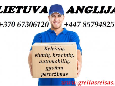Skelbimas - Lietuva-Anglija-Lietuva
