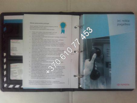 Skelbimas - Toyota Landcruiser 120, 3.0 D4D eksploatavimo vadovas (owners manual)