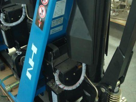 Skelbimas - 21-32-111 Elektrinis - hidraulinis aukšto pakėlimo padėklų vežimėlis