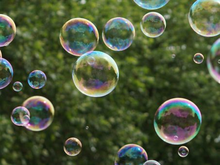 Skelbimas - Burbulų mašina
