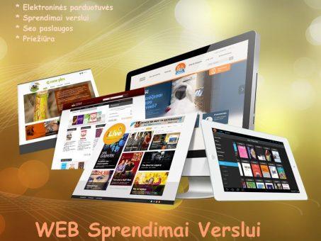 Skelbimas - Internetinių svetainių kūrimas