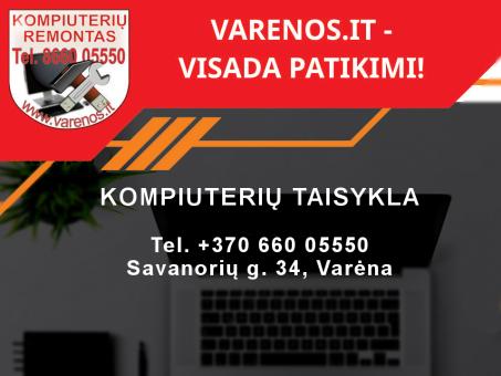 Skelbimas - Kompiuterių remontas Varėnoje