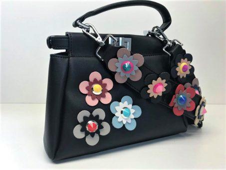 Skelbimas - Nauja su gėlėmis moteriška rankinė!