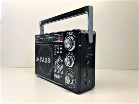 Skelbimas - Radijo imtuvas - Mp3 grotuvas su saulės baterija!