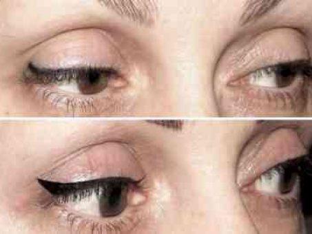 Skelbimas - Klasikinės akių linijos permanentinis makiažas tik 50 € !