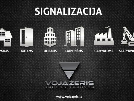 Skelbimas - VOJAŽERIS - signalizacija