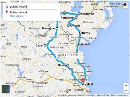Skelbimas - Vežame keleivius ir siuntas į Airiją