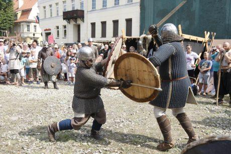 Kuršių ir vikingų stovykla