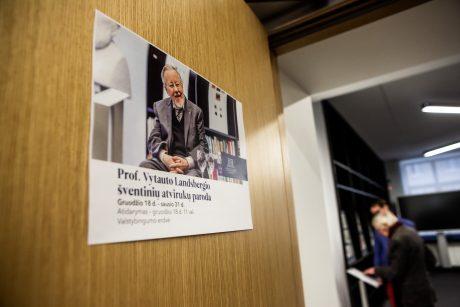 V. Landsbergio išsaugotų atvirukų paroda