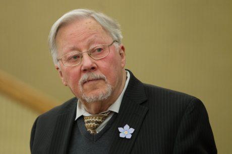 """V. Landsbergis apie """"valstiečių"""" lyderius: tai du retorikos profesoriai"""