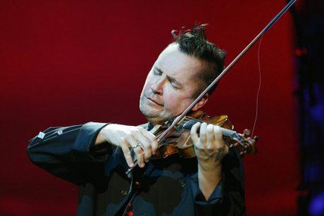 Smuiko virtuozas koncerto organizatoriams turėjo išskirtinių reikalavimų