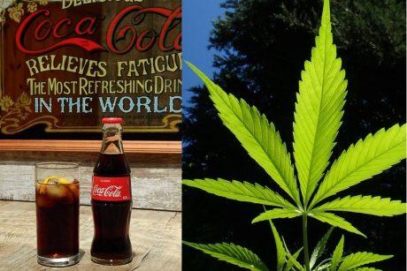 """""""Coca-Cola"""" paįvairins asortimentą – gamins gėrimą su kanapėmis?"""