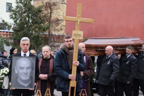 E. Nekrošiaus laidotuvės