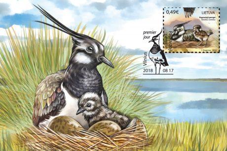 Naujuosius pašto ženklus papuoš skardžiabalsės pempės