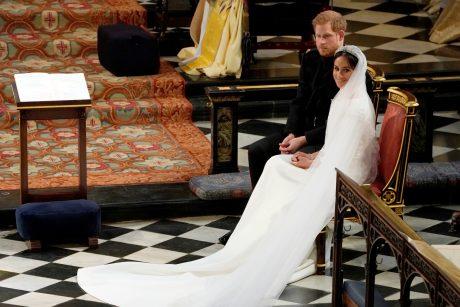 Princas Harry ir M. Markle paskelbti vyru ir žmona