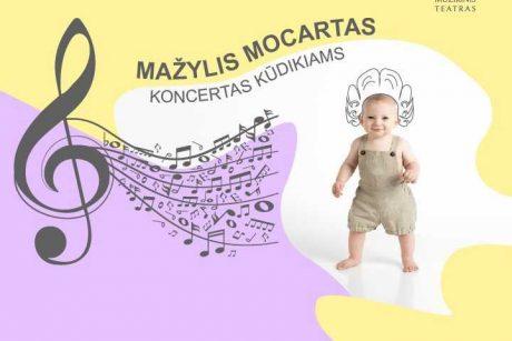 """""""Mažylis Mocartas"""": koncertas kūdikiams"""