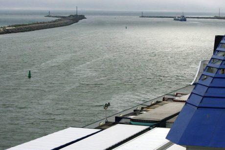 Mėlynąjį proveržį išjudintų uostas