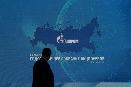 """2017-aisiais """"Gazprom"""" atsiriekė beveik 60 proc. Lietuvos dujų rinkos"""