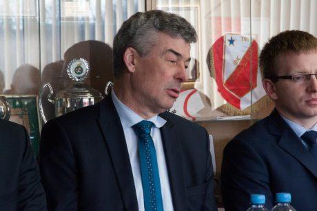 """A lygos valdybos pirmininku tapo """"Sūduvos"""" prezidentas"""