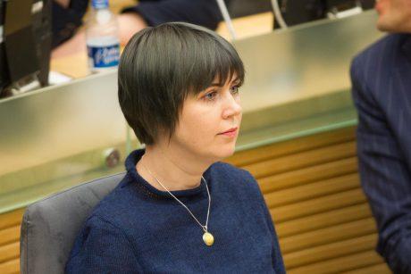 Seimo nariai kreipėsi į prokuratūrą dėl grasinimų D. Šakalienei