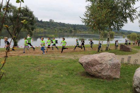 Olimpietis sukvietė Lietuvos vaikus į bėgimą Kačerginėje