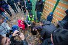 Policijos ir pabėgėlių susitikimas Rukloje