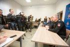 Spaudos konferencija dėl nuotekų Nemune