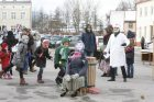 Žiemos varymo jomarkas Klaipėdos Turgaus aikštėje