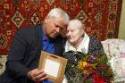 Šimtametei – uostamiesčio mero sveikinimai